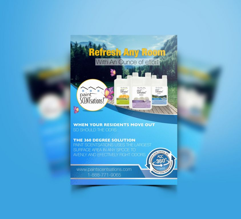 Flyer PAINT SCENTSATIONS